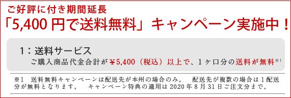 送料サービスキャンペーン0831
