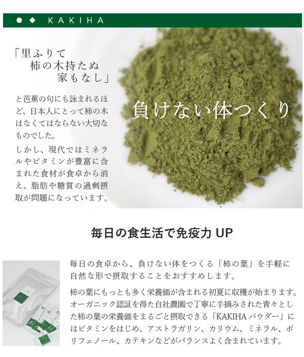 柿の葉の微粉末 KAKIHAパウダー0.9g×10本